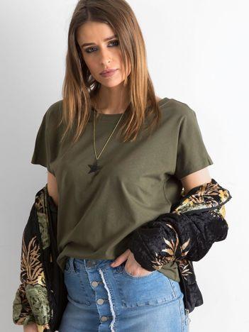 Khaki t-shirt Fire