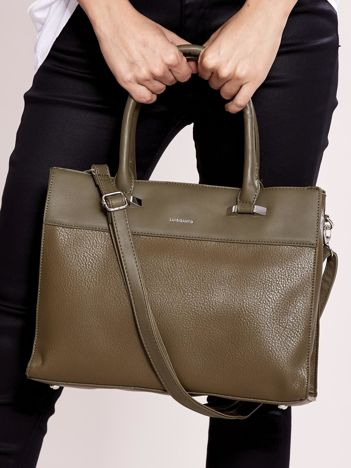 Khaki torba city bag