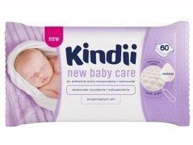 Kindii New Baby Care Chusteczki dla niemowląt 60 szt.