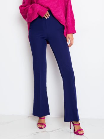 Kobaltowe spodnie Call
