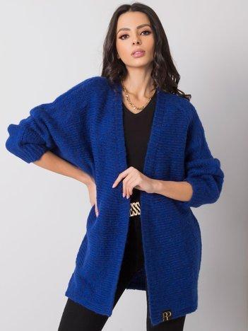 Kobaltowy sweter Crystal RUE PARIS