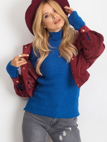Kobaltowy sweter Milo