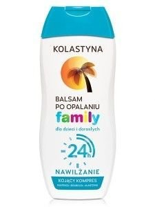 Kolastyna Opalanie Balsam po opalaniu dla dzieci i dorosłych Family  200 ml