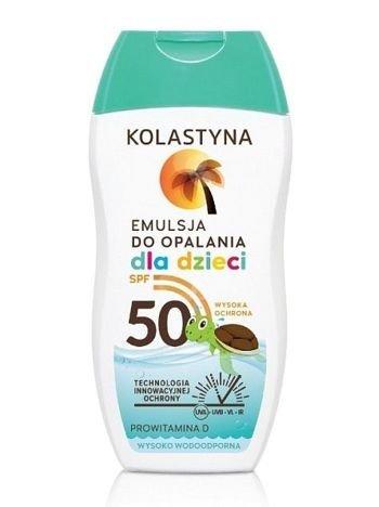 Kolastyna Opalanie Emulsja do opalania dla dzieci SPF 50  150 ml