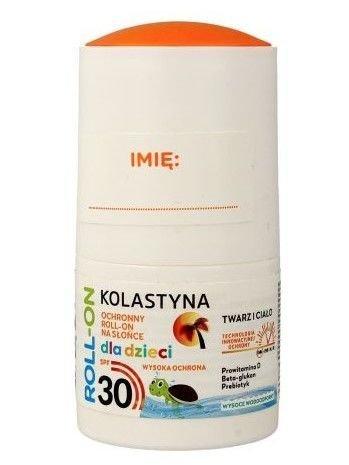 Kolastyna Opalanie Ochronny Roll-on na słońce dla dzieci SPF 30  50 ml