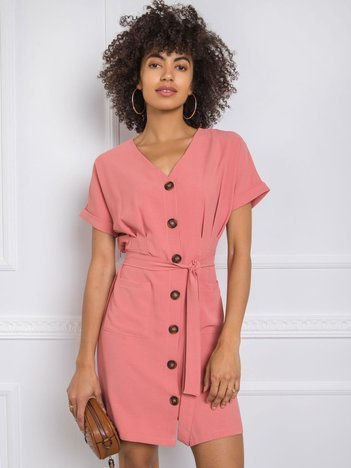 Koralowa sukienka Blake RUE PARIS