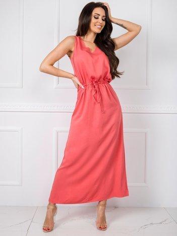 Koralowa sukienka Feel RUE PARIS