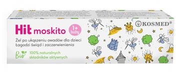 """Kosmed Hit Moskito Kids Żel łagodzący po ukąszeniu owadów dla dzieci  15ml"""""""