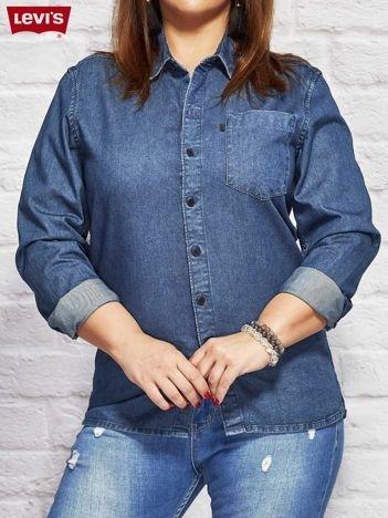 LEVIS Niebieska jeansowa koszula