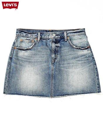 LEVIS Niebieska jeansowa spódnica mini