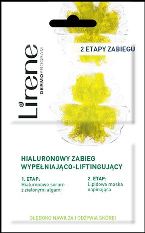 LIRENE Hialuronowy 2-etapowy zabieg wypełniająco-liftingujący 2 x 6 ml