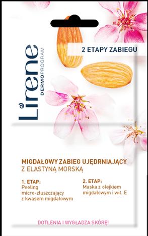 LIRENE Migdałowy 2-etapowy zabieg ujędrniajacy z elastyną morską 2 x 6 ml