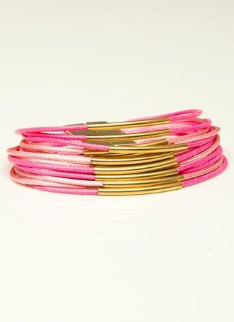 LOLITA Bransoletka damska różowo-złota z zapięciem magnetycznym