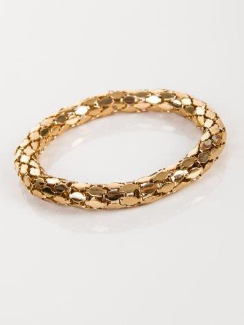 LOLITA Bransoletka wężowa złota