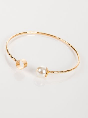 LOLITA Bransoletka złota z perłą