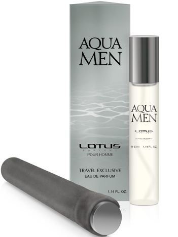 LOTUS 001 AQUA MEN eau de parfum pour homme woda perfumowana dla mężczyzn 33 ml