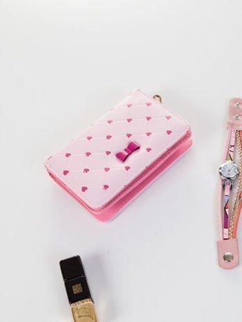 LOVE Podwójny portfel damski