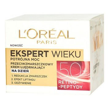 L'Oréal Age Specialist Ekspert Wieku 50+ przeciwzmarszczkowy krem ujędrniający na noc 50 ml