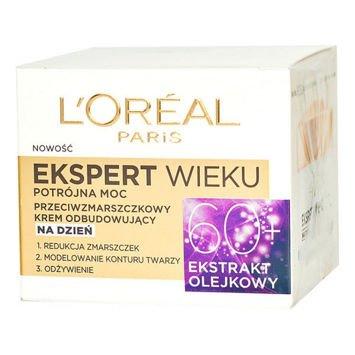 L'Oréal Age Specialist Ekspert Wieku 60+ przeciwzmarszczkowy krem odbudowujący na dzień 50 ml