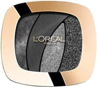 L'Oreal Color Riche Les Ombres poczwórne cienie S13 Magnetic Black 2,5 g