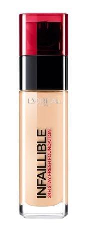 L'Oreal Infallible 24H Foundation długotrwały podkład do twarzy 300 Amber 30 ml