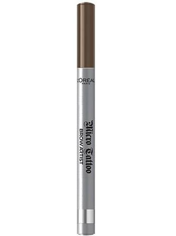 L'Oréal Micro Tattoo Brown Artist marker do brwi 105 Brunette