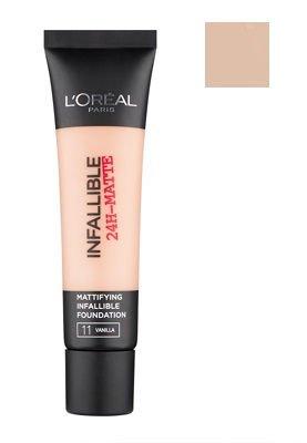 L'Oréal Paris Infallible 24H-Matte podkład matujący 12 Natural Rose 35 ml