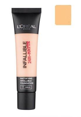 L'Oréal Paris Infallible 24H-Matte podkład matujący 24 Golden Beige 35 ml
