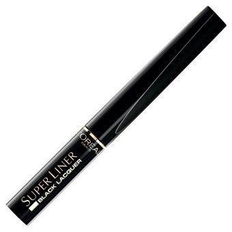 L'Oreal Super Liner Black Lacquer Eyeliner do oczu Winylowa Czerń 14 g