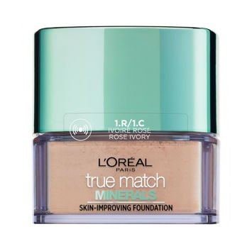 L'Oreal True Match Minerals Skin-Improving Foundation puder mineralny 1.R/1.C Rose Ivory 10 g