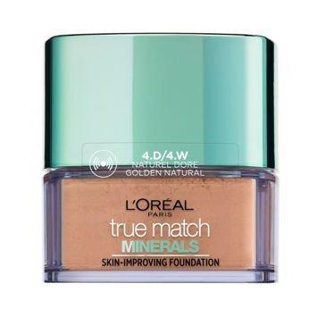 L'Oreal True Match Minerals Skin-Improving Foundation puder mineralny 4.D/4.W Golden Natural 10 g