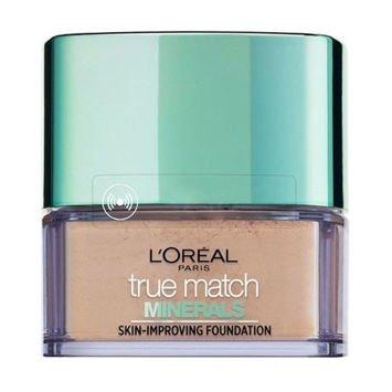 L'Oreal True Match Minerals Skin-Improving Foundation puder mineralny W1 Golden Ivory 10 g