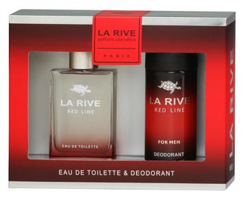"""La Rive La Rive for Men Red Line Zestaw/edt90ml+deo150ml/"""""""