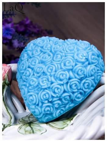 LaQ Mydełko Wielkie serce - niebieski / Zapach - wata cukrowa BEZ SLS i SLES