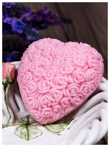 LaQ Mydełko Wielkie serce - różowy / Zapach - truskawka BEZ SLS i SLES