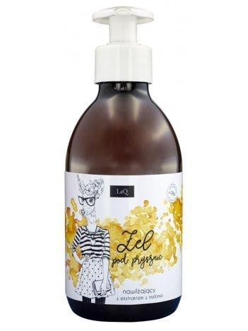 LaQ Żel pod prysznic - melon. Nie zawiera SLS, SLES, parabenów i silikonów. 300 ml
