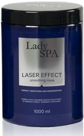 Lady Spa Laser Effect Maska do włosów wygładzająco-regenerująca 1000 ml