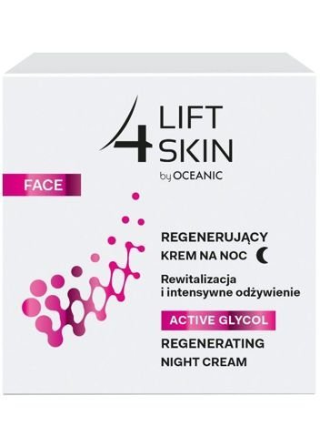 Lift 4 Skin by Oceanic Active Glycol Krem na noc regenerujący 50 ml