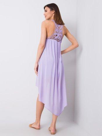 Liliowa sukienka Demmi OCH BELLA