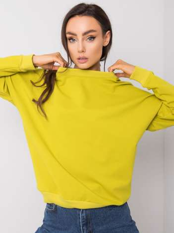 Limonkowa bluza Casilda RUE PARIS
