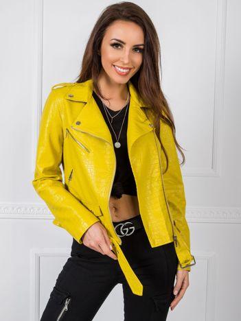 Limonkowa kurtka Esther