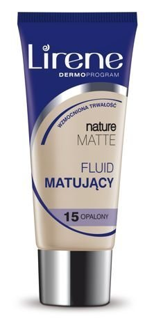 Lirene Fluid Matujący Nature Matt- Opalony , 15 30 ml