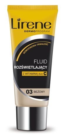 Lirene Fluid rozświetlający Beżowy 03 30 ml