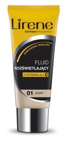 Lirene Fluid rozświetlający Jasny 01 30 ml