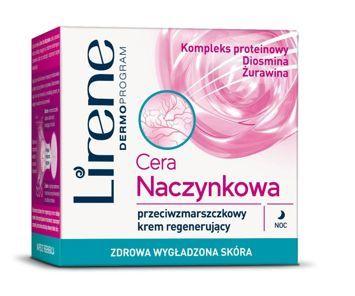 Lirene Przeciwzmarszczkowy krem regenerujący na noc 50 ml