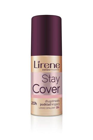 Lirene Stay cover Długotrwały podkład kryjący - lekko opalony 304 30ml