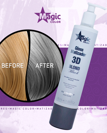MAGIC COLOR Profesjonalna MASKA TONUJĄCA GRAPHITE EFFECT 350 ml