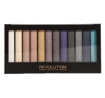 MAKEUP REVOLUTION Paleta 12 cieni Essential Day To Night 14g
