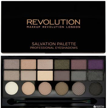 MAKEUP REVOLUTION Paleta 18 cieni Hard Day 13g