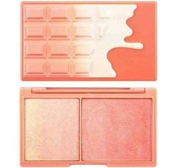 MAKEUP REVOLUTION Paletka do konturowania twarzy Chocolate Peach And Glow 11g